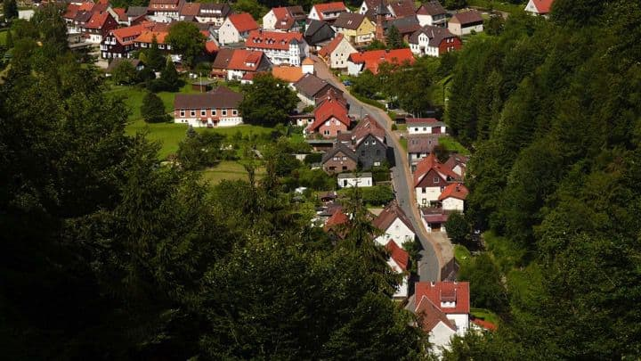 Aerial Shot Village